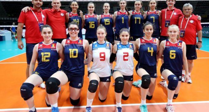 România,bronz la Campionatului Balcanic Under 19 la volei feminin