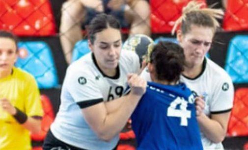 Bianca Voica, în cantonament cu naționala de handbal junioare
