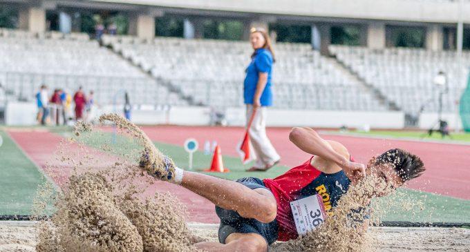 Bogdan Cioacă, vicecampion balcanic la triplusalt