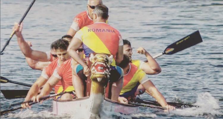 Canoistul argeșean Ionuț Peleu, prestație remarcabilă pentru România la CE de dragon boat