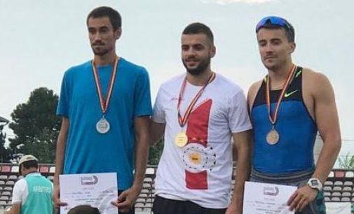 """Andrei Neagoe (CSU Pitești) a câștigat probele de sprint de la """"Naționalele"""" de atletism"""