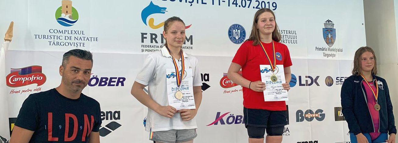 CSM Pitești, 8 medalii după primele două zile ale naționalelor de la Târgoviște