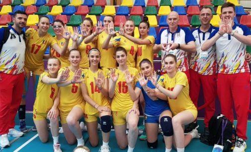 Naţionala de volei feminin, medalie de argint la FOTE Baku 2019