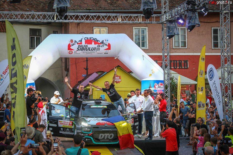 Porcișteanu preia conducerea în Campionatul național, după ce s-a clasat pe 3 în Raliul Sibiului