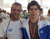 CS Dacia Mioveni, un argint prin Adrian Nae la naționalul de înot pentru cadeți