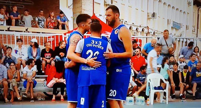 CSU Pitești este vicecampioană națională la baschet 3×3, după o finală pierdută în prelungiri