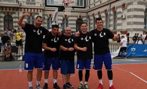 CSU Pitești s-a calificat în sferturile Ligii la baschet 3×3 și atacă titlul național