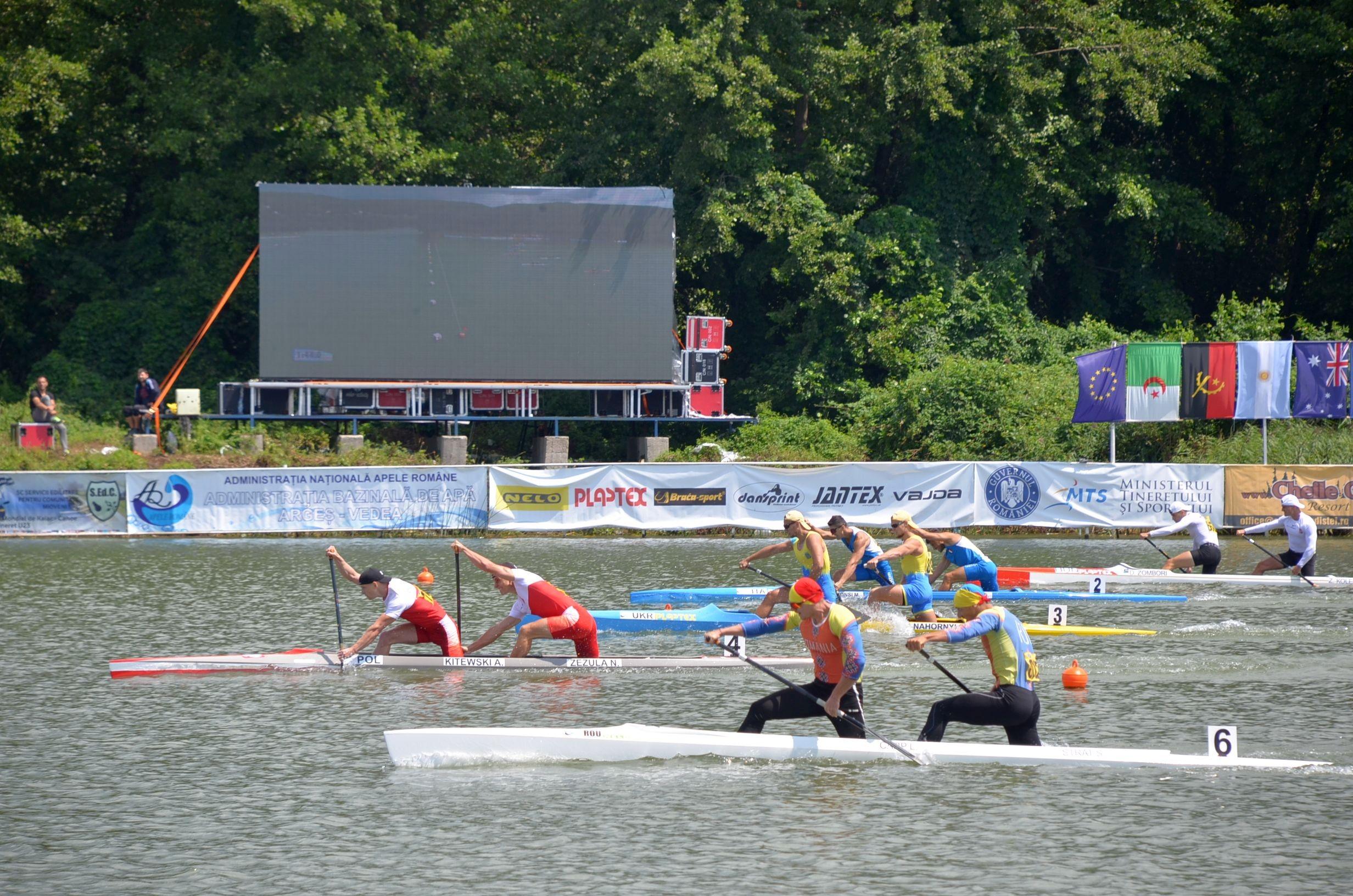 România a cucerit 3 medalii de argint la Mondialul de kaiac-canoe pentru juniori și tineret de la Pitești!