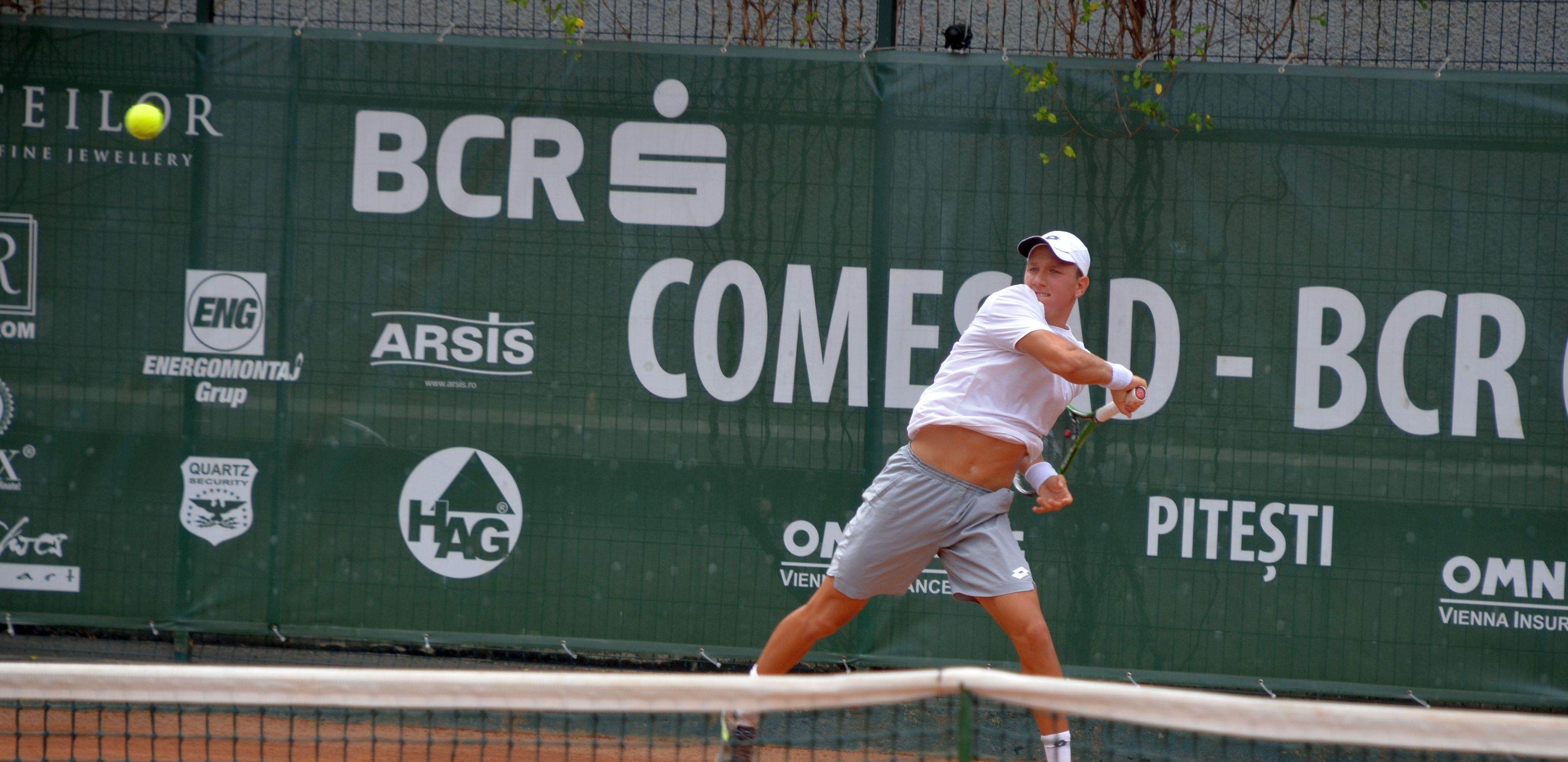 Comesad BCR Open | Jianu – Frunză, semifinală românească