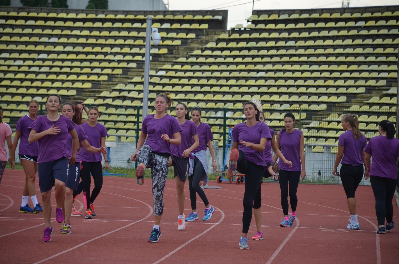 Echipa de volei FC Argeș și-a reluat astăzi pregătirile