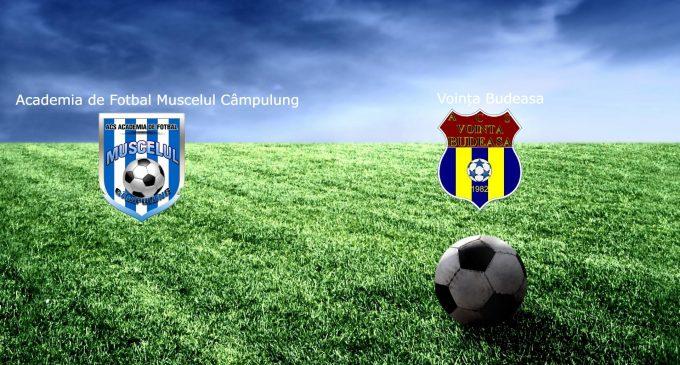 Liga 4 | Academia de Fotbal Muscelul Câmpulung Muscel – Voința Budeasa, derby-ul rundei a patra