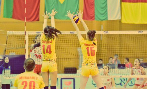 Romania s-a calificat în sferturile CM de volei U 18