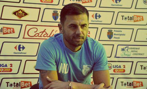 Nicolae Dică e dezamăgit după eliminarea din Cupa României și ar putea pleca de la FC Argeș