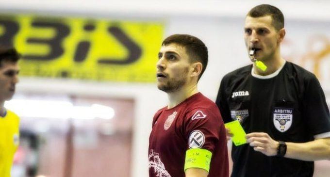 Piteșteanul Liviu Chița va arbitra Supercupa României la fotbal în sală
