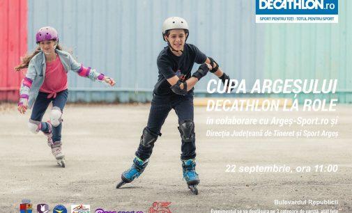 Cupa Argeșului- Decathlon la role, în săptămâna mobilității urbane