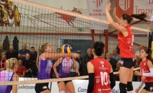 FC Argeș, înfrângere scontată în fața campioanei en-titre CSM Volei Alba Blaj