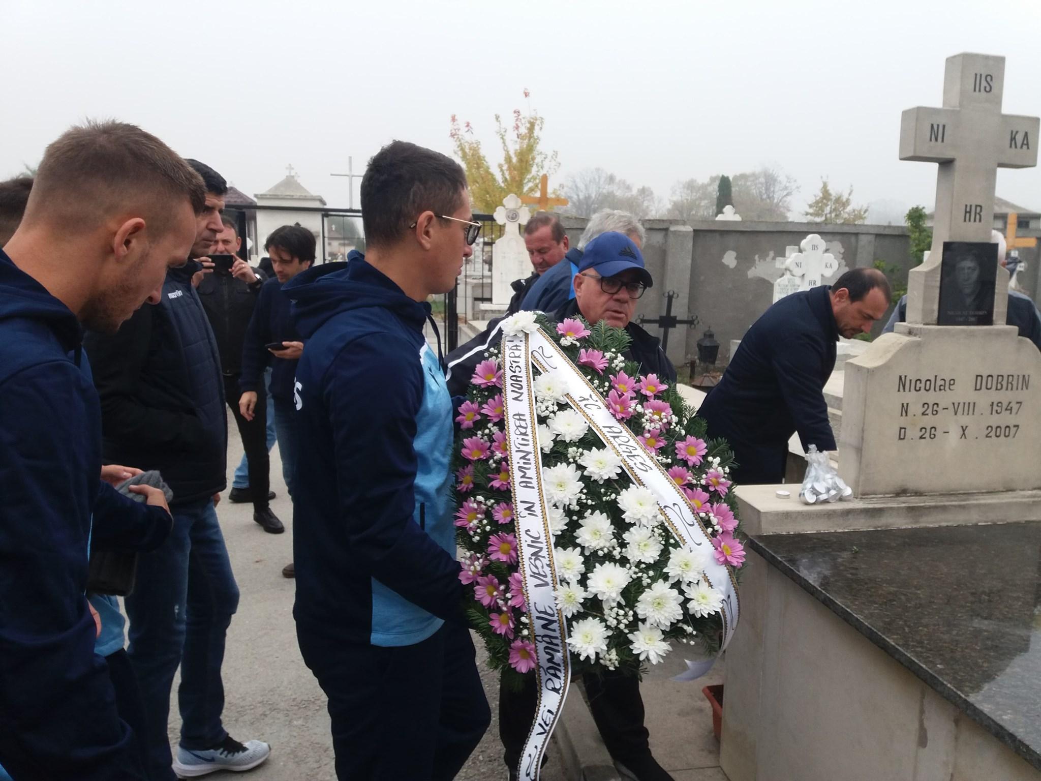 Nicolae Dobrin a fost comemorat astăzi, la 12 ani de la trecerea sa în neființă