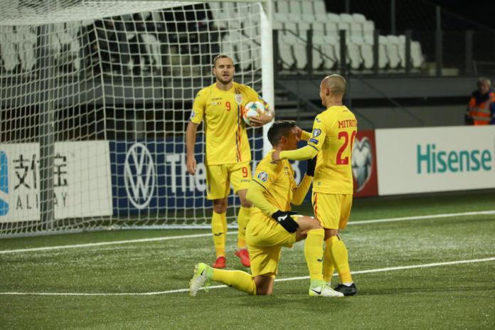 Insulele Feroe – România 0-3, după un meci nu tocmai reușit al tricolorilor
