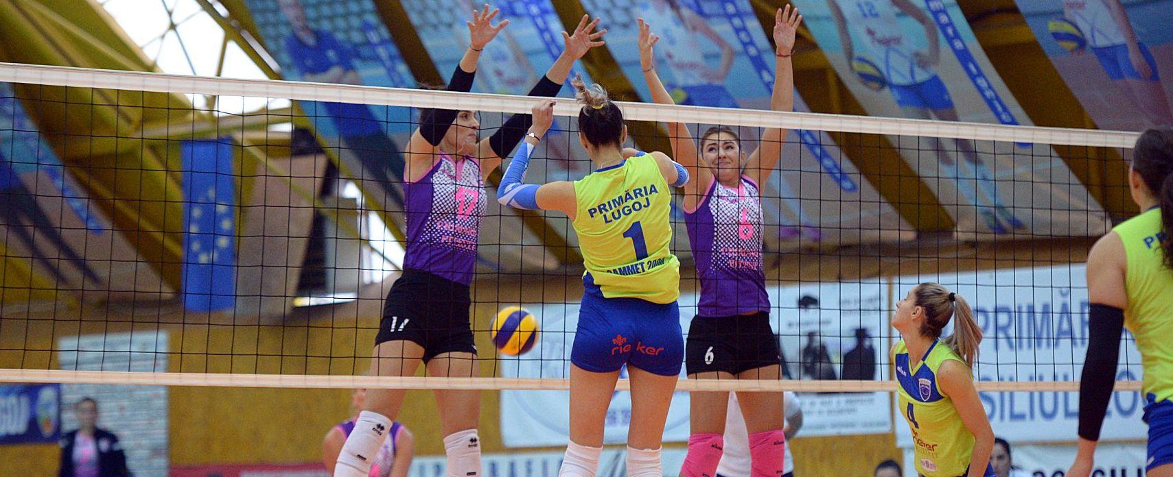 CSM Lugoj – FC Argeș 3-1, în prima etapă din divizia A1 la volei feminin