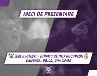 BCM U Pitești își prezintă lotul !