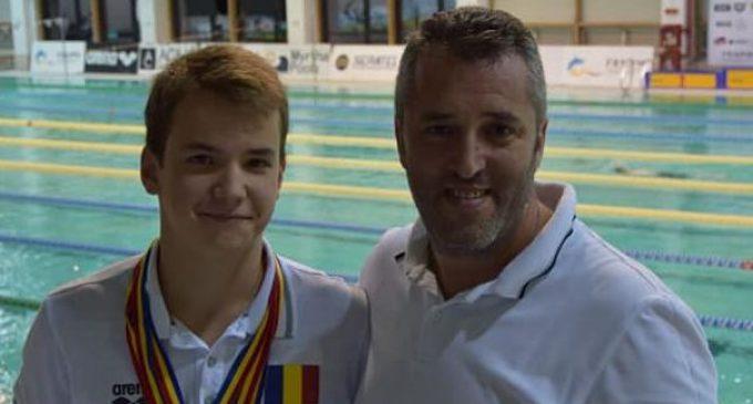 Mihai Iacob, record național la 50 m bras
