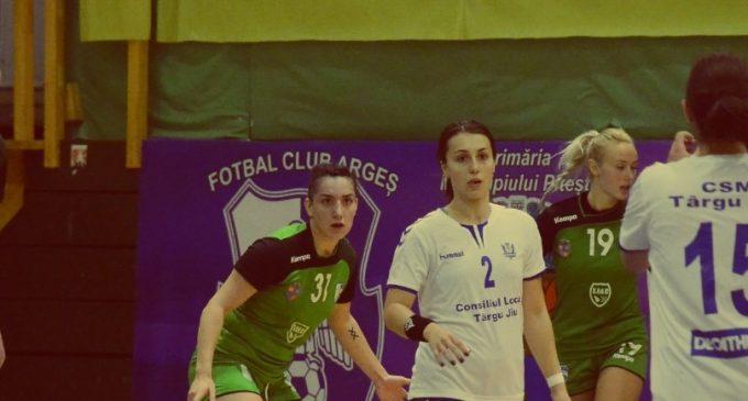 Dacia Mioveni învinge pe CSM Tg. Jiu cu 28-20 în derby-ul Diviziei A la handbal feminin