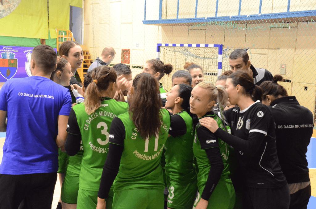 Național Râmnicu Vâlcea – Dacia Mioveni 20-34, în prima etapă a returului diviziei A