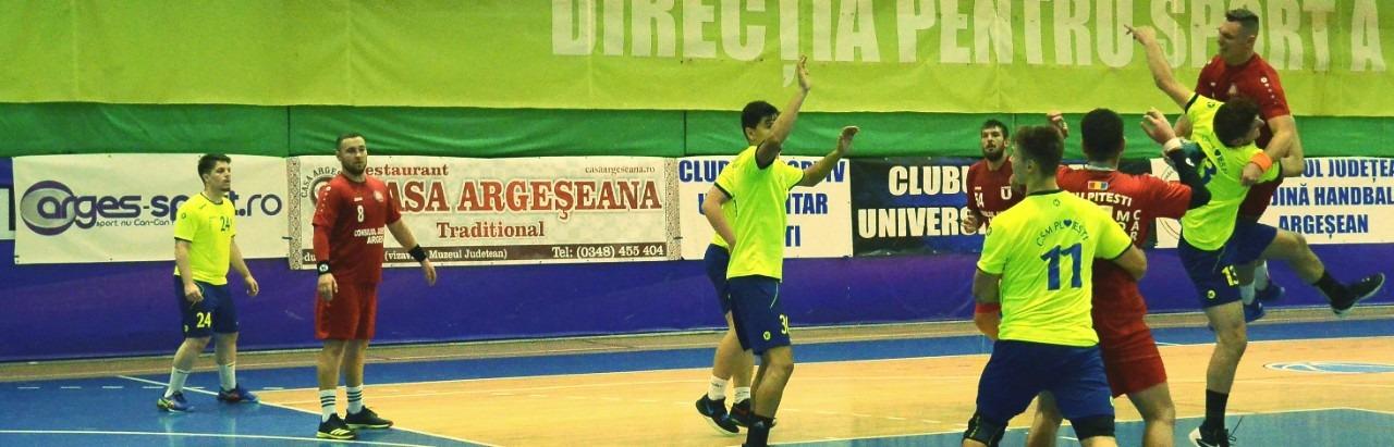 CSU Pitești – CSM Ploiești 33-25, în divizia A la handbal masculin