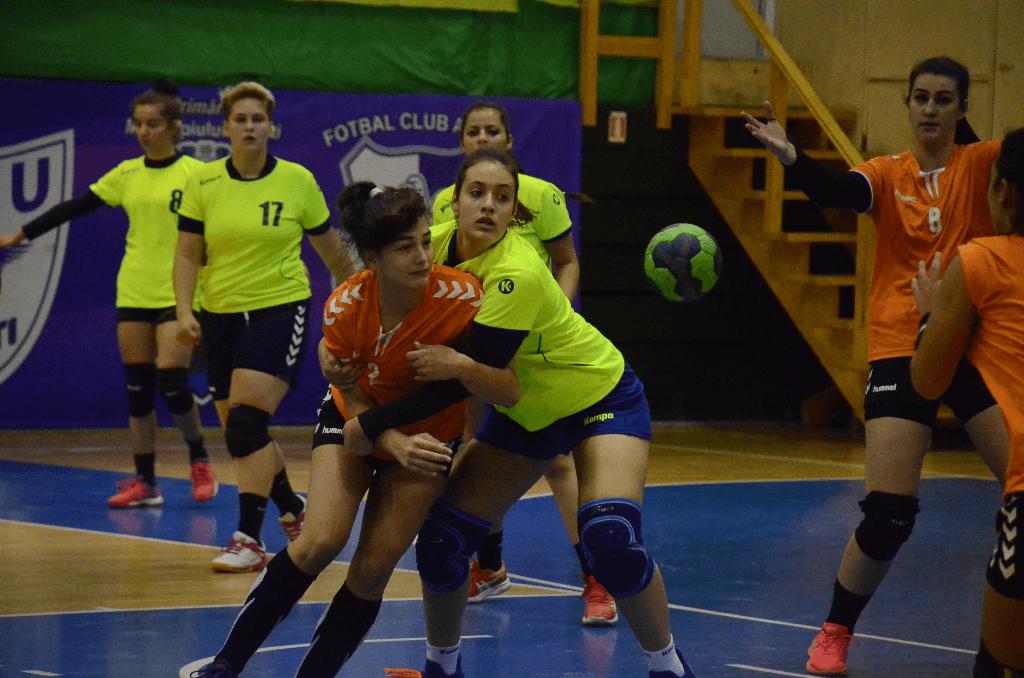 LPS Pitești – LPS Slatina 26-22, într-o partidă din campionatul național de junioare I