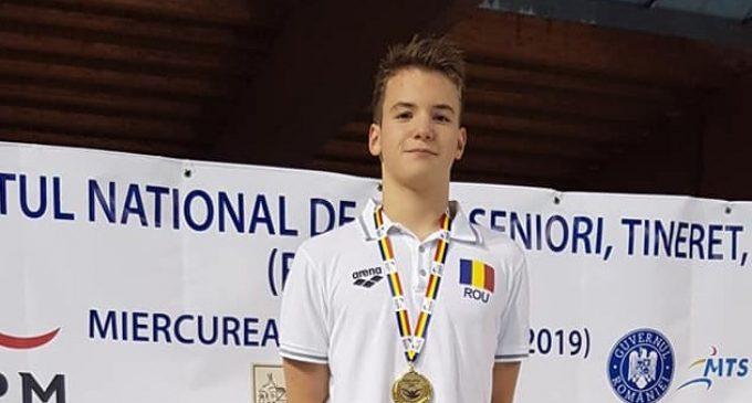 Încă un record național pentru Mihai Iacob (CSM Pitești), la Naționalele de natație