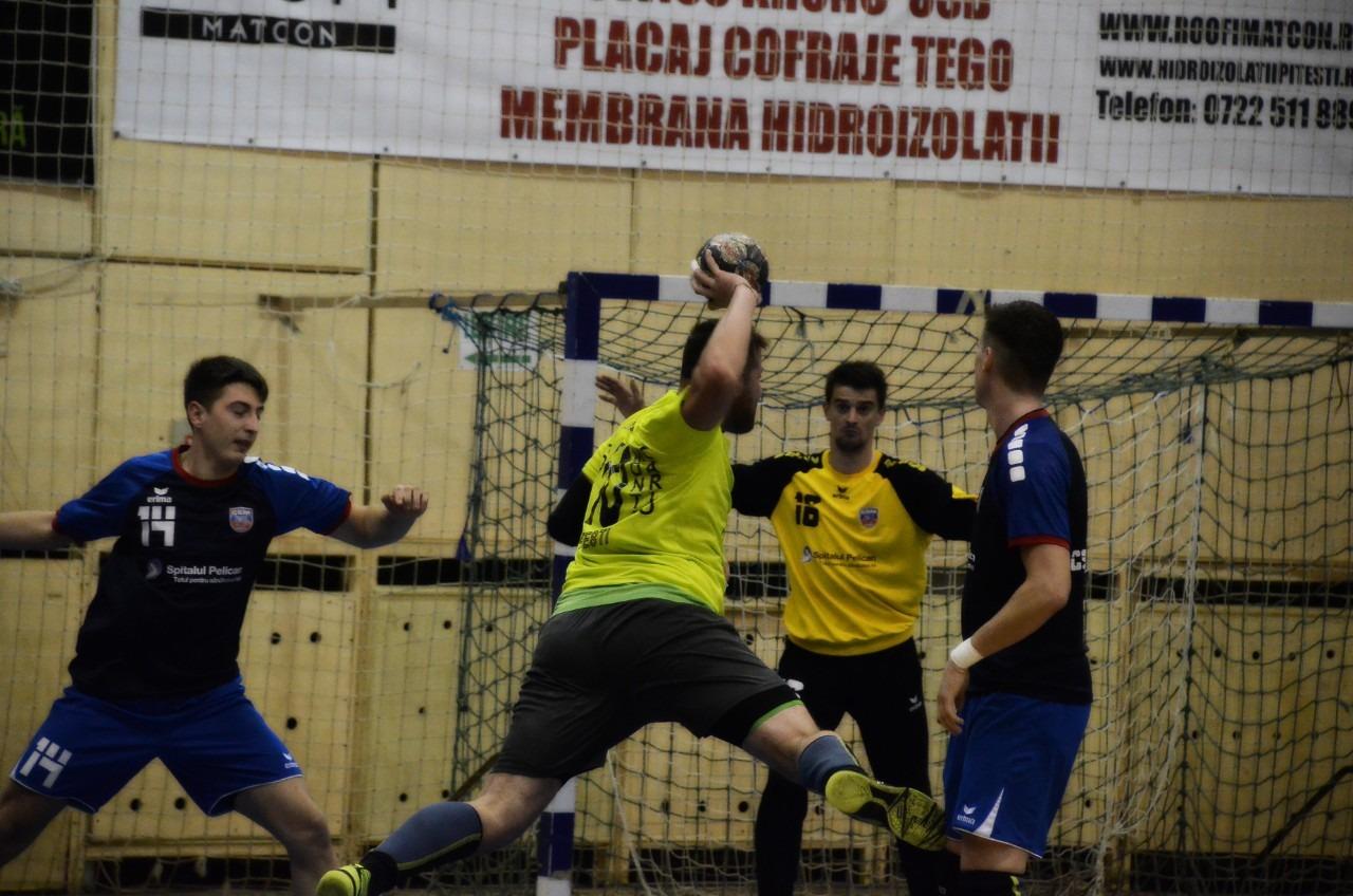 CSU Pitești s-a calificat în optimile de finală ale Cupei României Fan Courier