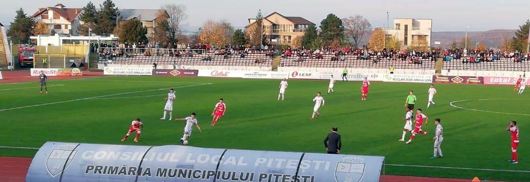 FC Argeș – UTA 0-0