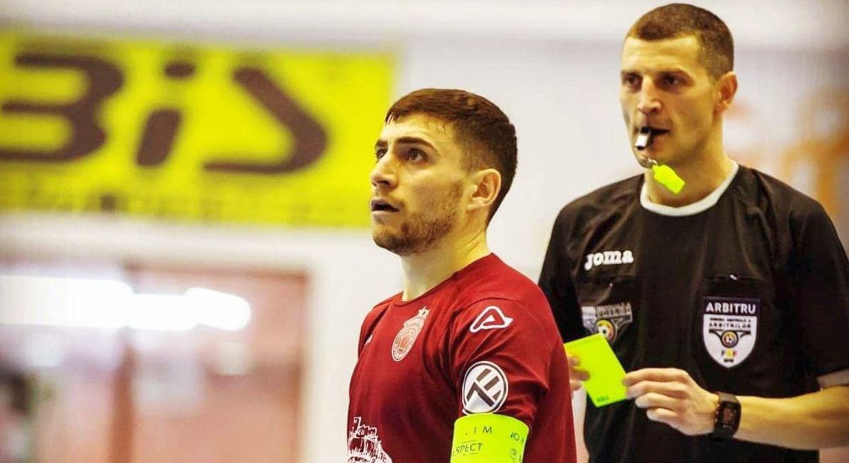 Liviu Chița, un nou arbitru argeșean de futsal pe lista FIFA
