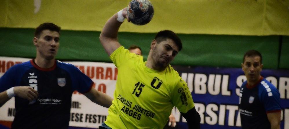 CSU Pitești – CSM Bucuresti DivA, joi, de la ora 17, în divizia A la handbal masculin