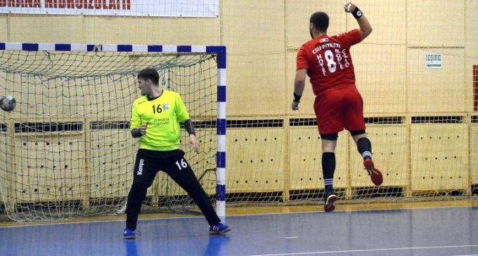 CSU Pitești a învins cu 30-25 pe CSM 2 București, în Divizia A la handbal masculin