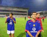 """Dragoș Radu și Robert Neagoe, piteștenii care s-au luat la trântă cu """"diavolii roșii"""" Ronaldo și Rooney!"""