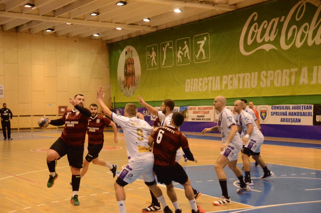 CSU Piteşti va participa în această săptămână la al doilea turneu din Divizia A la handbal masculin
