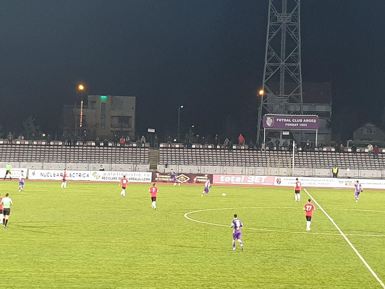 FC Argeș – Sportul Snagov 3-0, după un meci controlat în totalitate de echipa lui Ionuț Badea