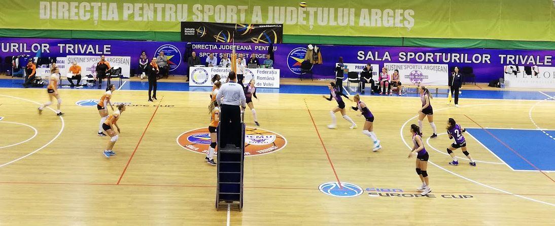 Video   FC Argeș – CSM Târgoviște 2-3, în divizia A1 la volei feminin