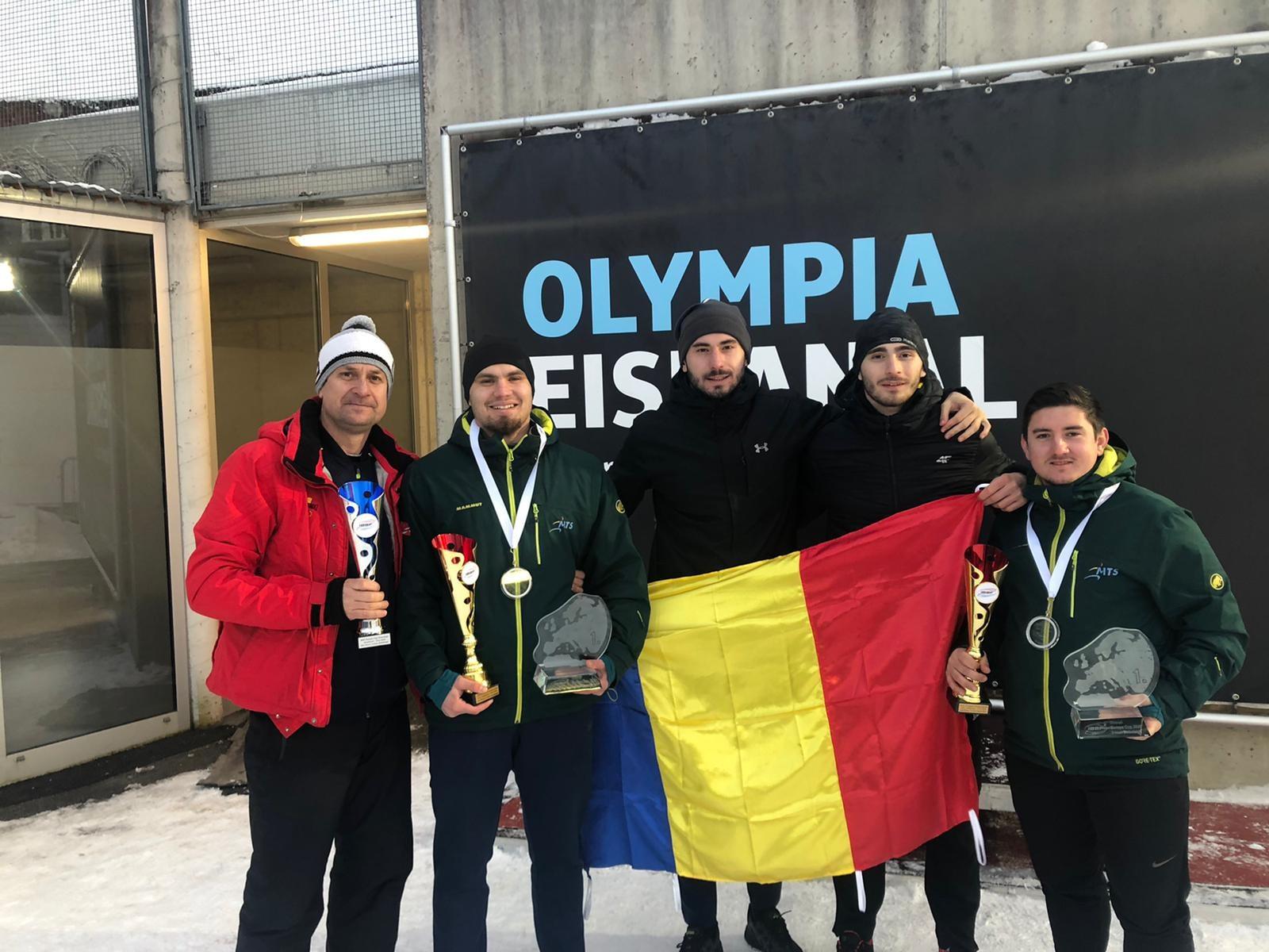 Mihai Tentea şi Ciprian Daroczi, câştigătorii clasamentului general al Cupei Europei la bob-2