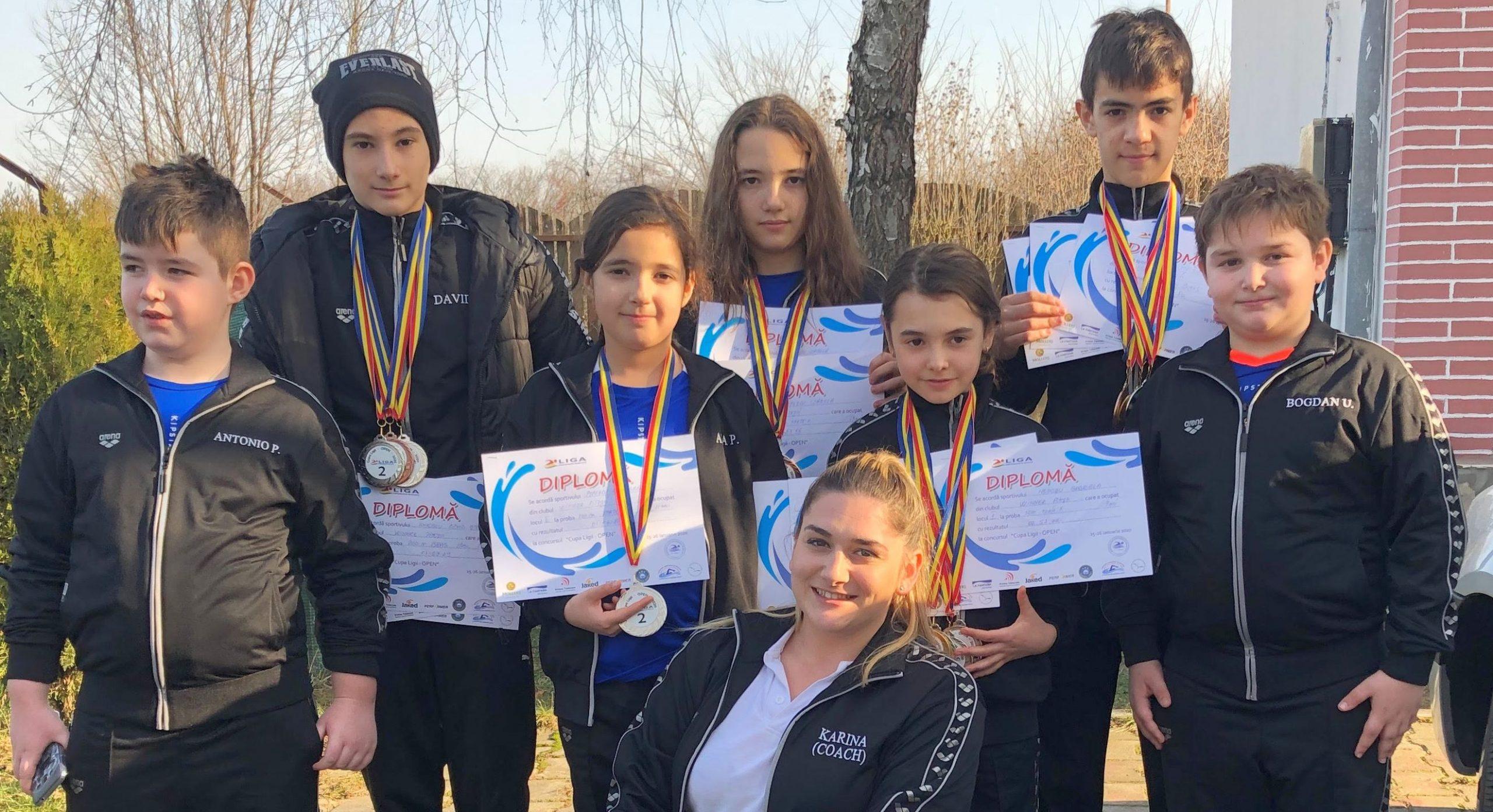 Winner Piteşti a avut un parcurs reuşit la Cupa Ligii