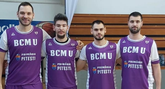 BCMU FC Argeș CSM, cea mai bună echipă la baschet 3×3: un loc 1 și un loc 2 la primele două turnee!