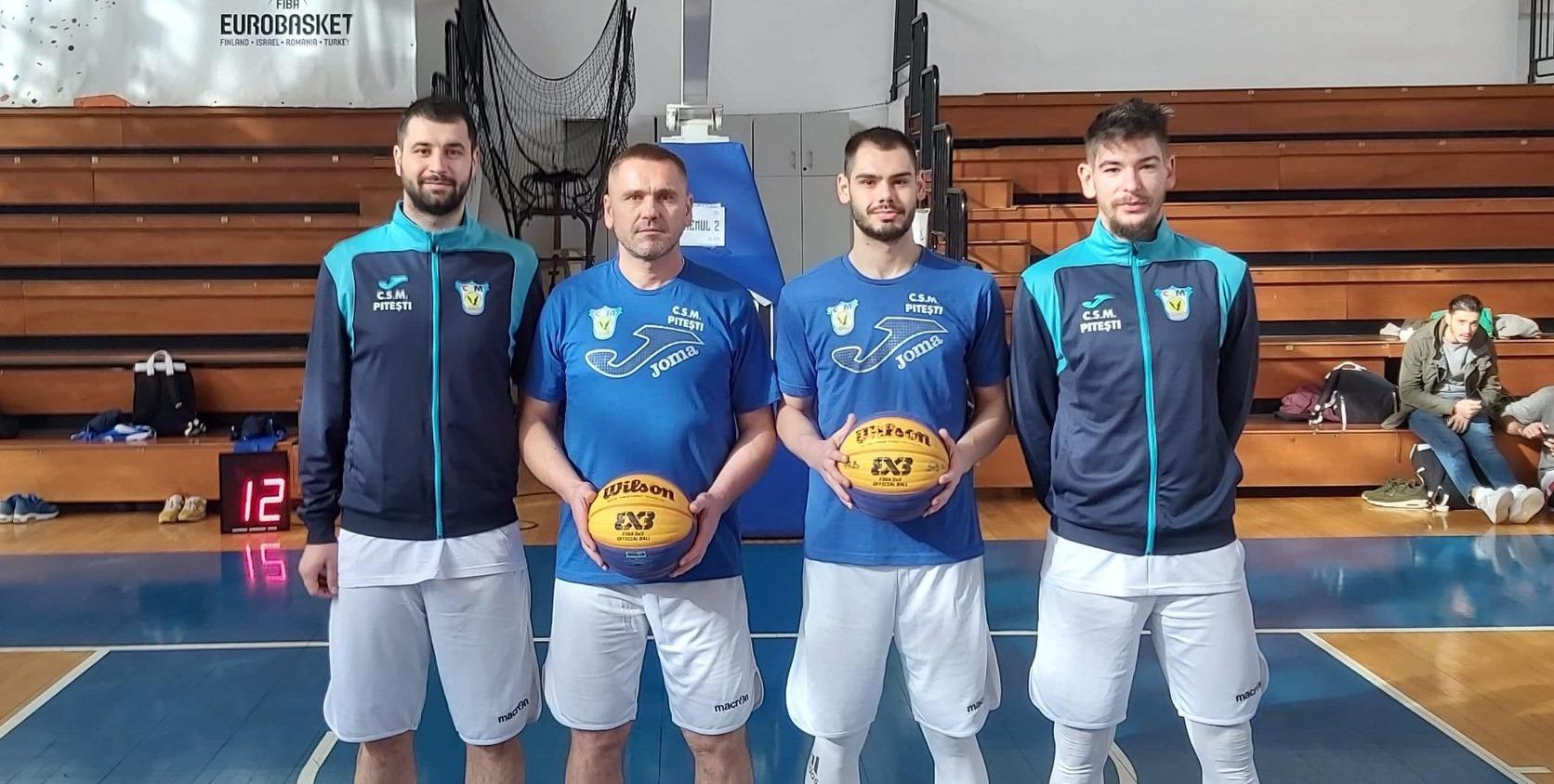 BCMU FC Argeș CSM și CSU Pitești s-au calificat la turneul final al Cupei României la baschet 3×3