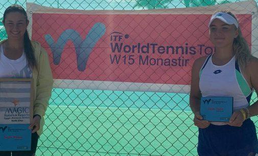 Ilona Ghioroaie s-a impus la Monastir, după ce a dispus cu 7-5, 6-1 de rusoaica Timofeeva