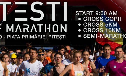 Start înscrieri Piteşti Half Marathon, ediţia a 2-a