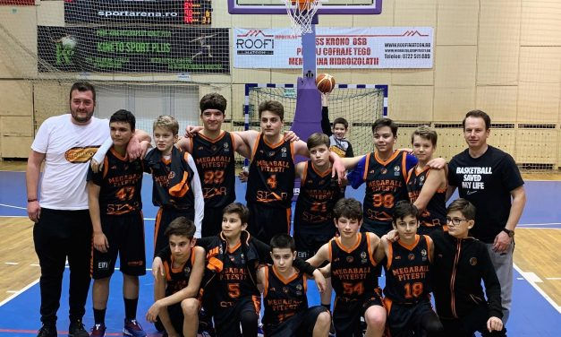 ACS Primo Mega Ball s-a impus în cele două partide disputate în CN de baschet masculin Under 13