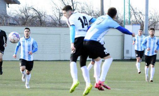Real Bradu – Unirea Bascov 1-2, într-un meci amical disputat astăzi