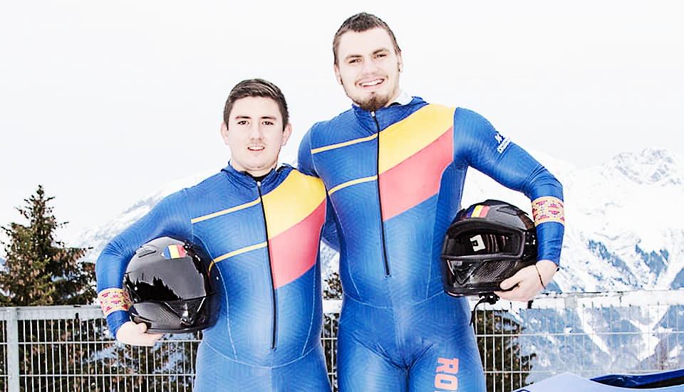 Mihai Tentea şi Ciprian Daroczi, campioni mondiali la bob