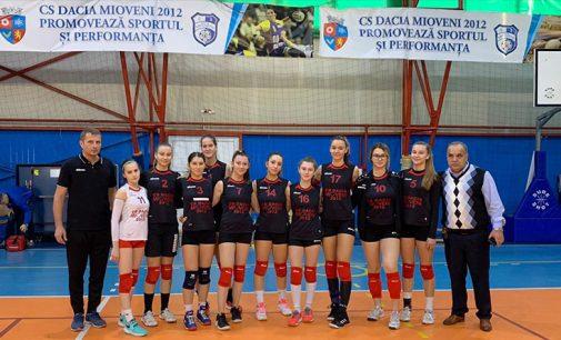 CS Dacia Mioveni joacă acasă cuCNNT Craiova, într-o partidă contând pentru campionatul de volei junioare