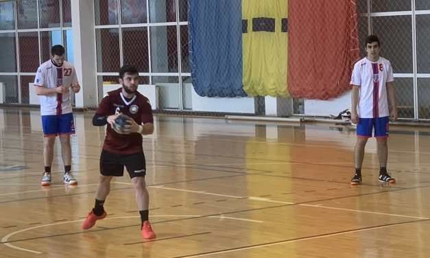 CSU Pitești câștigă cu 22-19 în fața Stelei 2 București, în Divizia A la handbal masculin
